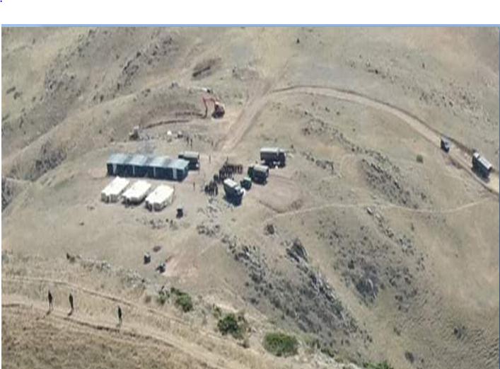 """""""აზერბაიჯანელმა სამხედროებმა, დავით-გარეჯთან ფაქტიურად ახალი სამხედრო ბაზა გახსნეს"""""""
