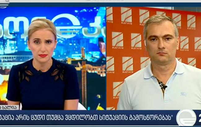 """""""რუსთავი2""""-ის ახალი დირექტორი ქრონიკის კითხვებს პასუხობს"""