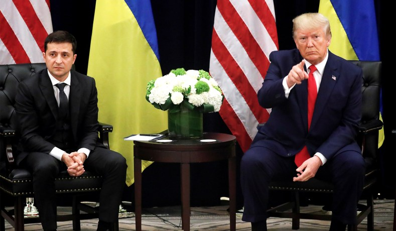 ტრამპმა ვლადიმირ ზელენსკი რუსეთის ახალ პრეზიდენტად მოიხსენია